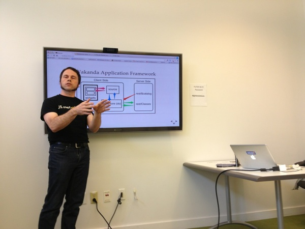 Presenting at Seattle JS